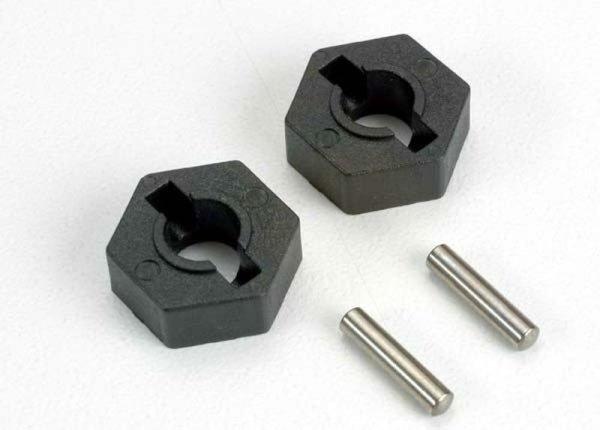 Sechskantmitnehmer 14mm Radmitnehmer (2) zu T und E-Maxx Traxxas 4954
