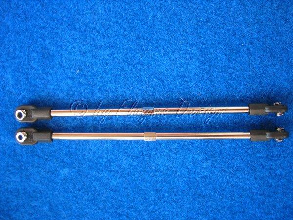 Spurstangen hinten 116 - 137 mm zu T-Maxx Traxxas