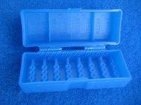 Quarz Aufbewarungsbox Kunststoff blau Thunder Tiger RPM *Restposten