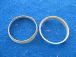 Zentrierringe (2) Durchmesser 67,1-65,1mm grau für...