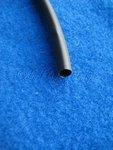 Schrumpfschlauch schwarz Durchmesser 6,4mm 1dm