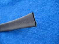 Schrumpfschlauch schwarz Durchmesser 9,5mm 1dm