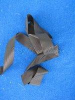Saumband Spinnaker schwarz 2,5cm breit 1 Laufmeter Invento 15421514