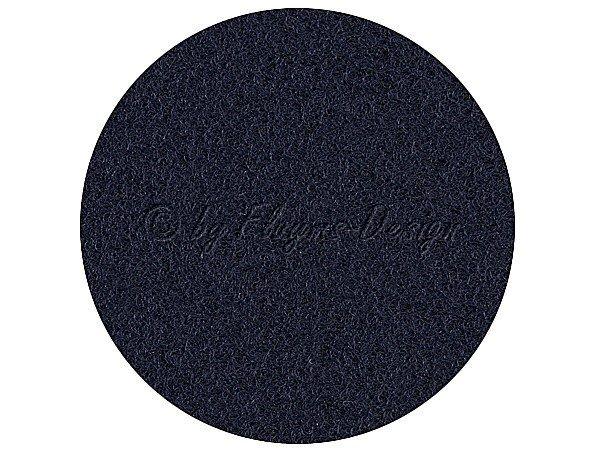 Velour Bezugsstoff dunkelblau 12S42 1,40 x 0,75m