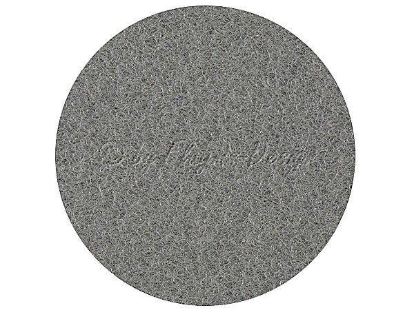 Velour Bezugsstoff mittelgrau 12S16-3 1,40 x 0,75m