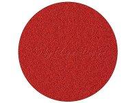 Velour Bezugsstoff rot 12S19 1,40 x 0,75m
