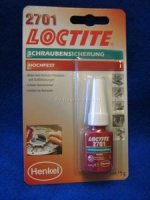 SCHRAUBEN SICHERUNG LOCTITE 2701 HOCHFEST 5ml