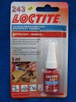 Schraubensicherung LOCTITE 243 Mittelfest 5ml neu
