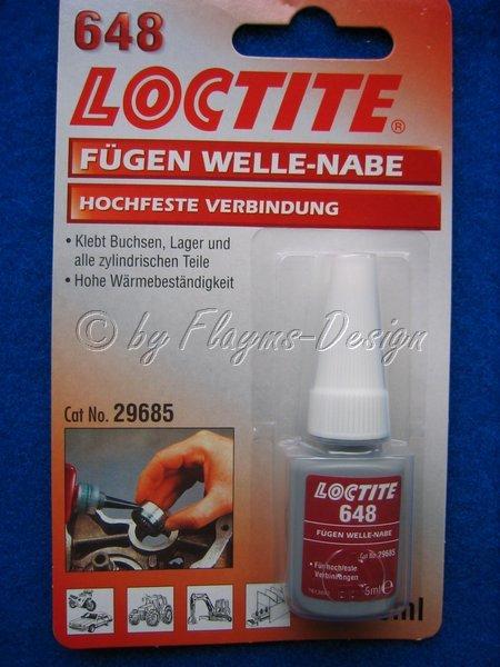 LOCTITE 648 Fügen Welle - Nabe 5ml Hochfeste Verbindung