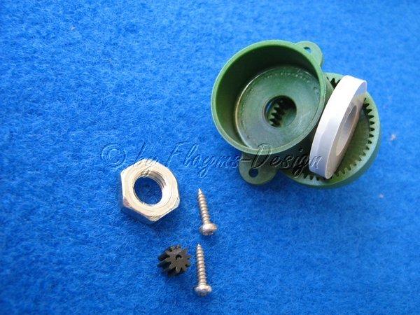 Getriebe Power Gear 1:5 für Slow Fly Modelle grün robbe