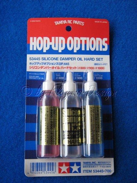 Stoßdämpferöl Set (3x 20ml) Hart Silikonöl hard Tamyia 53445