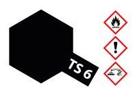 Spezial-ACRYL-HARZ SPRAY TS-6 SCHWARZ MATT Spraydose 100ml  Tamiy