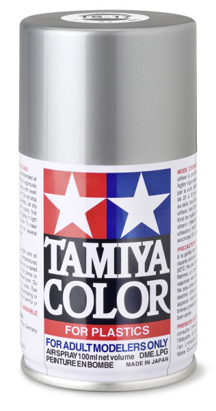 Spezial-ACRYL-HARZ SPRAY TS-17 ALU SILBER Spraydose 100ml  Tamiya