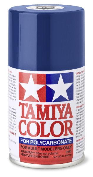 Lexanfarbe PS-4 BLAU Spraydose 100ml  Tamiya Color