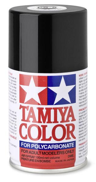 Lexanfarbe PS-5 schwarz Spraydose 100ml  Tamiya Color