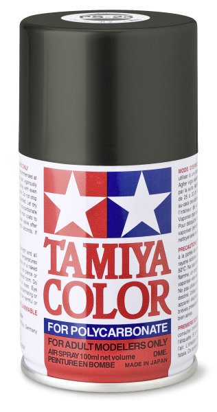 Lexanfarbe PS-23 Gun Metall Grau Spraydose 100ml  Tamiya Color