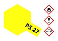 Lexanfarbe PS-27 NEON GELB Spraydose 100ml  Tamiya Color