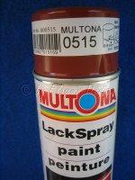 Autolackspray 400ml Dose Farbe 0515 von MULTONA NEU