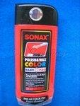 POLISH & WAX COLOR SONAX FARB POLITUR rot 500ml Flasche