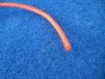 SILIKON - MESSKABEL D 2,5mm2 rot Meterware 1 Laufmeter