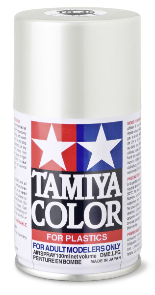 Spezial-ACRYL-HARZ SPRAY TS-45 Perlweiß Spraydose100ml Tamiya