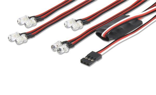 LED Licht-Set 4+4 Steuerbar über Sender Carson 500906240