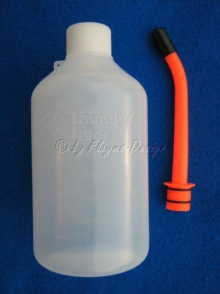 Schnelltankflasche 600ml mit Rohr und Verschluß