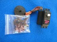 Servo Q7 JR BB 7KG 3-poliger Ferritmotor Nylongetriebe
