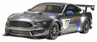 RC Ford Mustang grau GT4 TT-02 1:10 Tamiya 300058664