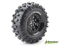 Räderset CR-Rowdy 1.9 supersoft Felge schwarz 1:10...