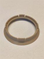Zentrierring (1) D 64-57,1mm beige für Alufelgen