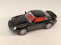 1:43 Porsche Carerra 4S Coupè schwarz 1995 Schuco...