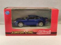 1:43 Porsche 911 Turbo 2000 blau Schuco 3315082