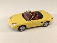 1:43 Porsche Boxter Cabrio gelb Schuco 3115082