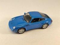 1:43 Porsche 911 Carrera 4S Coupè blau 1995 Schuco...