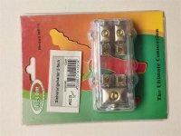Sicherungshalter 2-Fach, vergoldet NE16 1Z291