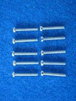 Zylinderschrauben M2X20 10Stk. Krick 51005