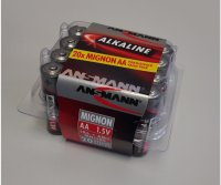 Mignon AA LR06 1,5V Batterie Box (20) Ansmann Racing...