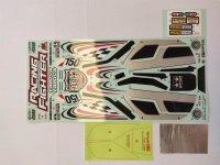 Decorbogen Sticker Racing Fighter blackTamiya 319495877