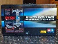 OriginalkartonTamiya Racing Fighter Black Edition OVP DT-03