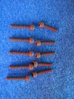 Zylinderkopfschrauben mit Innensechskant (10) M4 X 20mm Innensechskantschrauben Krick 51423
