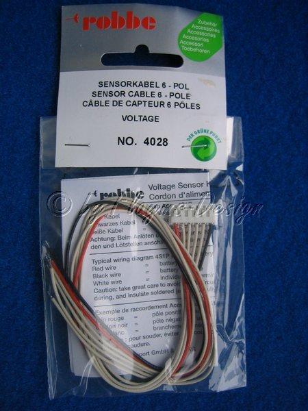Sensorkabel Balancerkabel robbe 6-polig für 5Z Lipoly Equalizer Balancerstecker Balanceranschuss