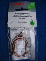 Sensorkabel Balancerkabel robbe 4-polig für 3Z...