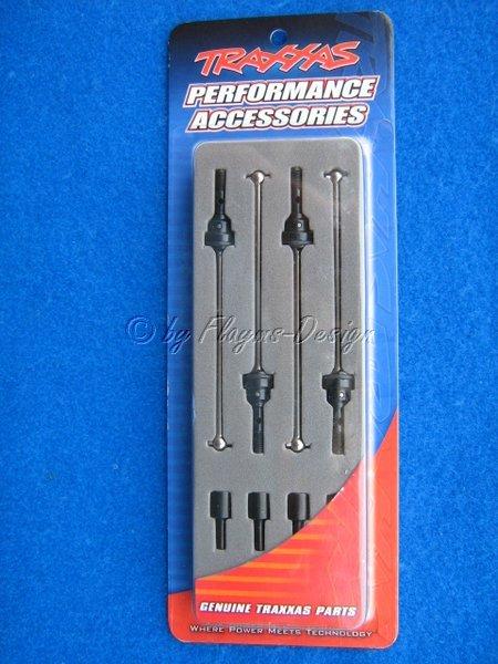 Antriebswellen und Mitnehmer Stahl 1:16 E-Revo Traxxas 7151x
