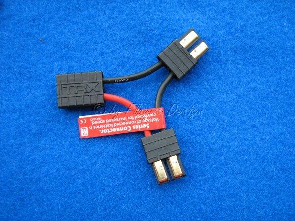 V-Kabel Y-Adapter für Serienschaltung TRX-Stecker Reihenschaltung
