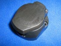 Steckdose 7-Polig Kunststoff mit Abschaltkontakt für Anhänger und Caravan