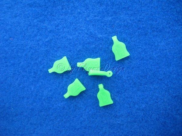 Splint-Grip, Halter grün (6) Halter für Karosserie Clips