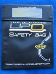 LiPo-Safety Bag Schutzbeutel Laedesack 18x22cm für...