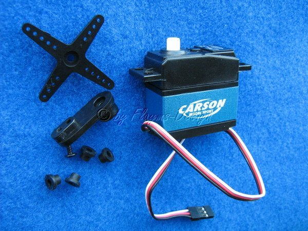 SERVO STANDARD CS-3 JR 3Kg Carson 502015 Reflex Wheel