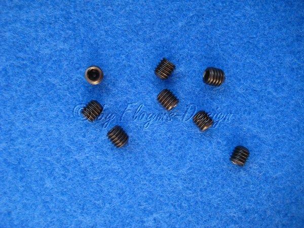 Innensechskantgewindestifte M6 X 6mm Madenschrauben (8) Krick 653807